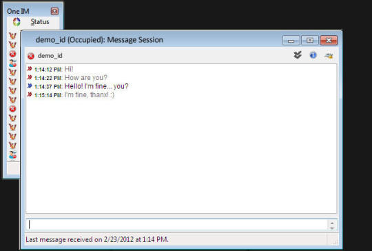 One Instant Messenger