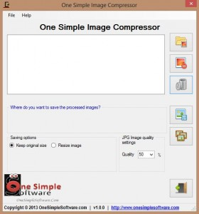 One Simple Image Compressor