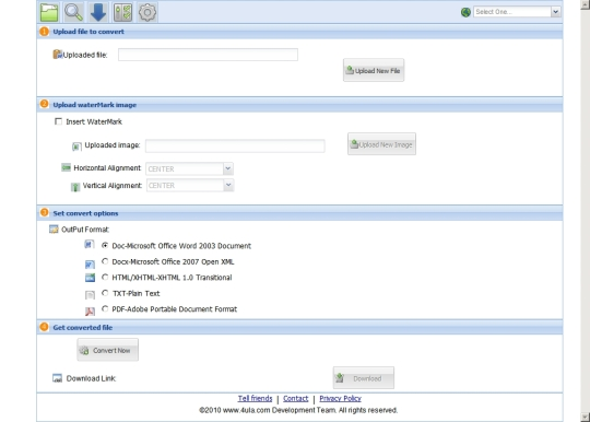 Online Office to Pdf