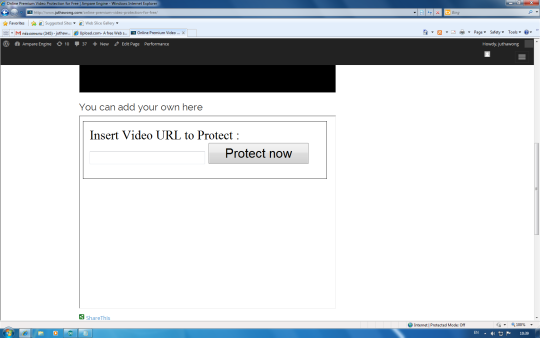 Online Premium Video Protection for Free