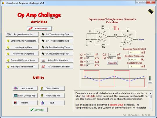 Op Amp Challenge