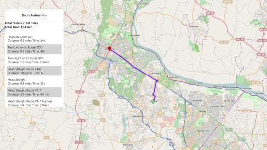 Open Map for Windows 8