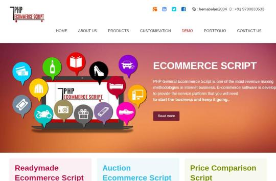 Open Source PHP Ecommerce Script
