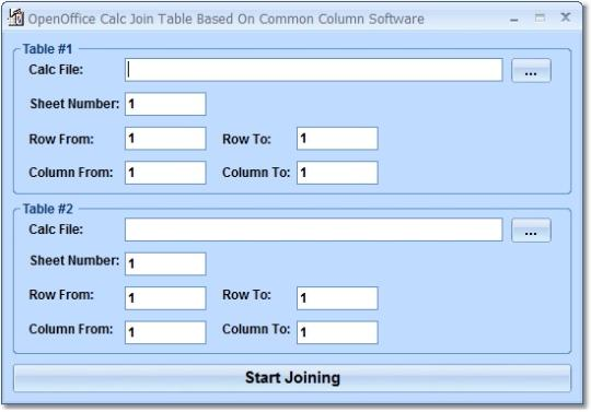 OpenOffice Calc Join Table Based On Common Column Software