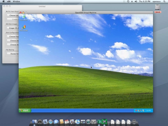 OpenOSX WinTel