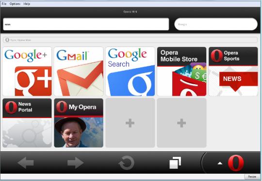 Opera Mini PC
