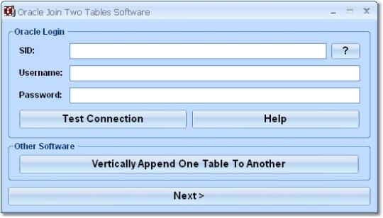 Oracle Join Two Tables Software