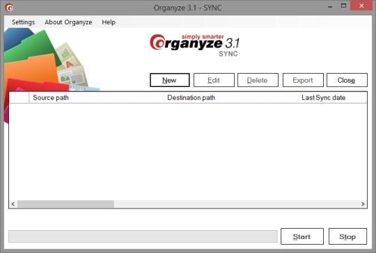 Organyze Sync