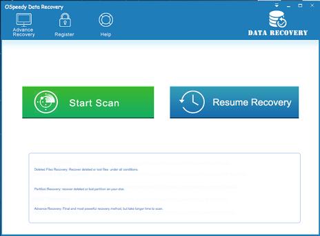 OSpeedy Data Recovery
