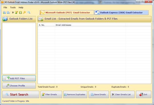Outlook Email Address Finder