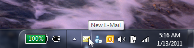 Outlook Email Notifier