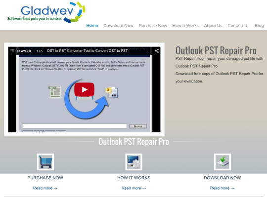 Outlook PST Repair Pro