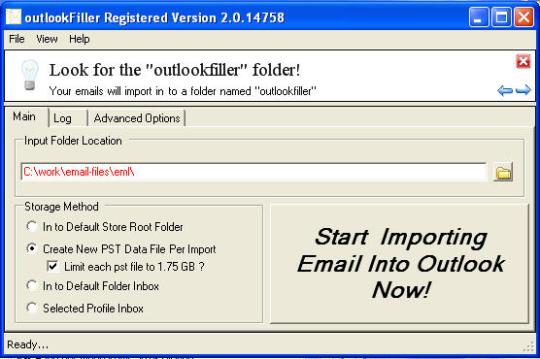 OutlookFiller