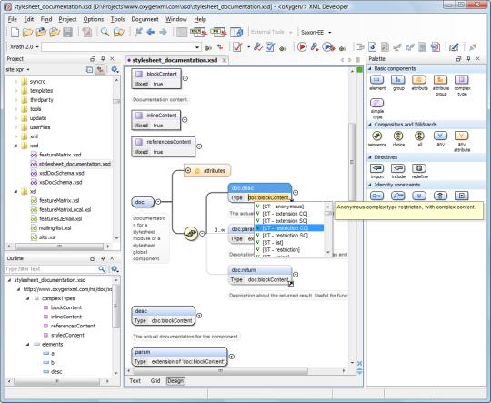 oXygen XML Developer