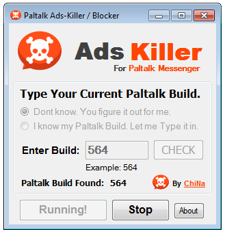 Paltalk Ads Killer
