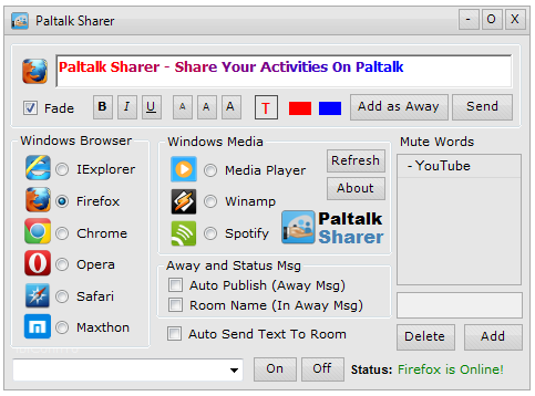 Paltalk Sharer