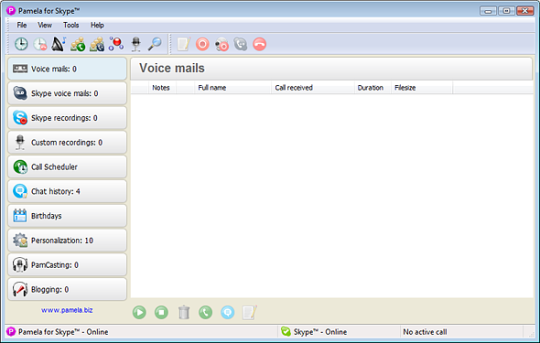 Pamela for Skype - Basic Version