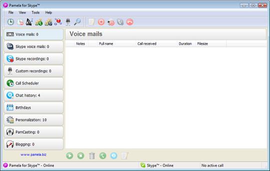 Pamela for Skype - Professional Version