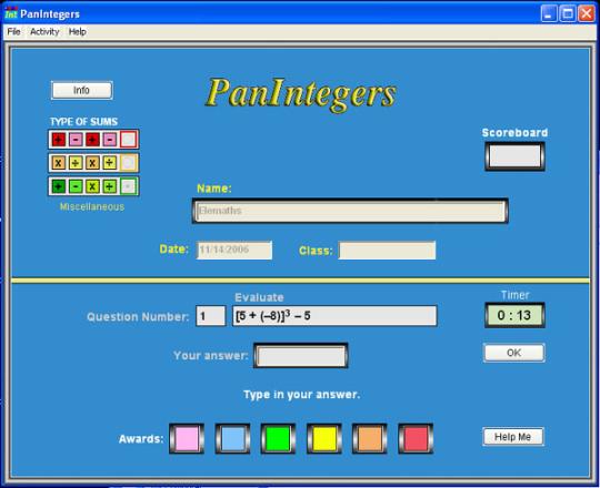 PanIntegers