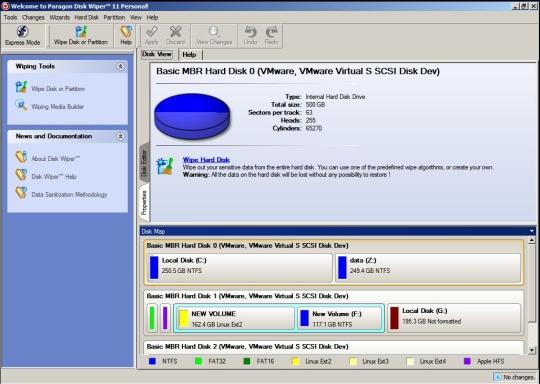 Paragon Disk Wiper 11