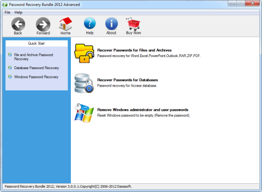 Password Recovery Bundle 2012 Advanced
