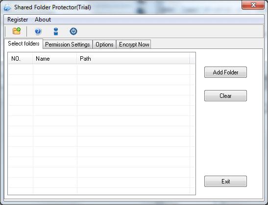 Password Shared Folder