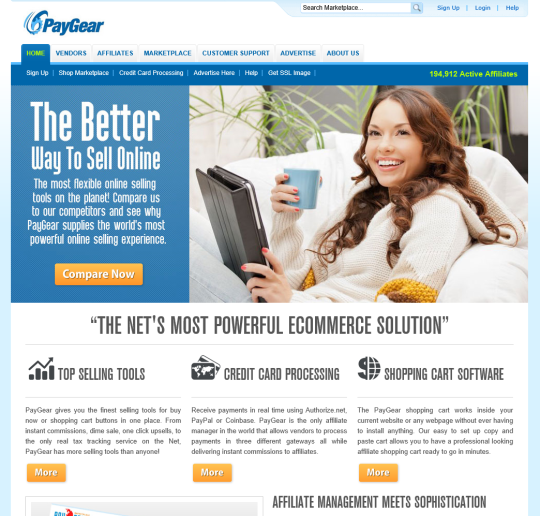 PayGear Instant Commission Affiliate Manager