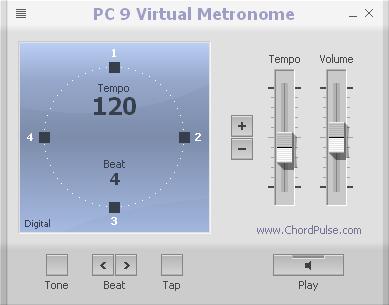 PC 9 Virtual Metronome