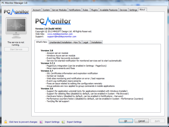 PC Monitor (64-Bit)