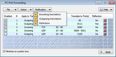 PC Port Forwarding (32-bit)