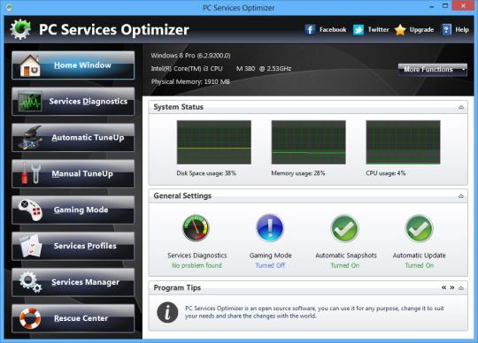 PC Services Optimizer