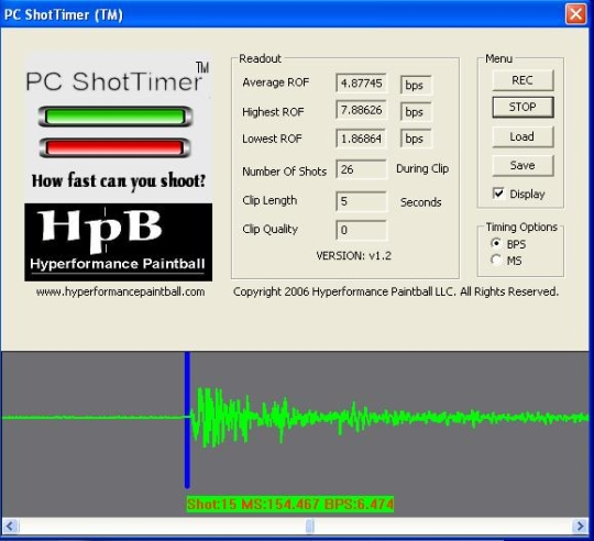 PC ShotTimer