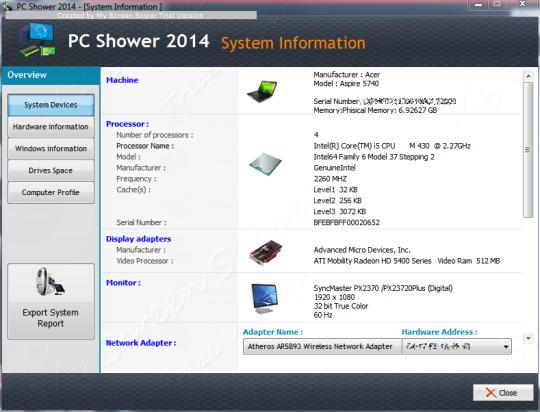 PC Shower 2014