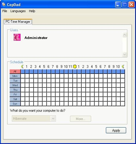 PC-Time Manager