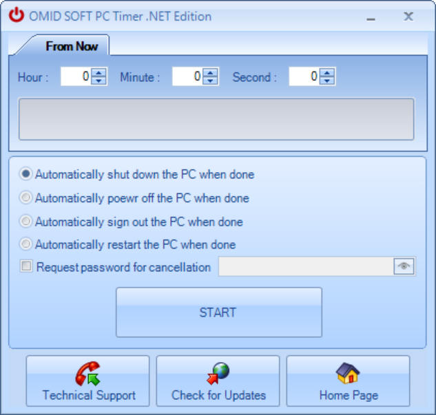 PC Timer .NET Edition