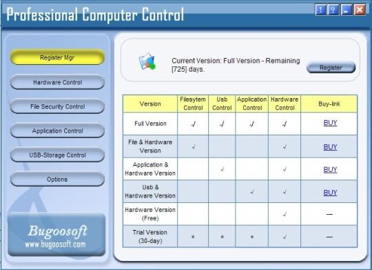 PCCtrl (Professional Computer Control)
