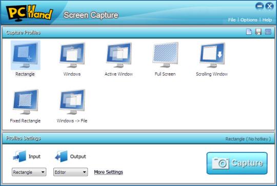 PCHand Screen Capture
