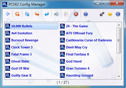 PCSX2 Config Manager