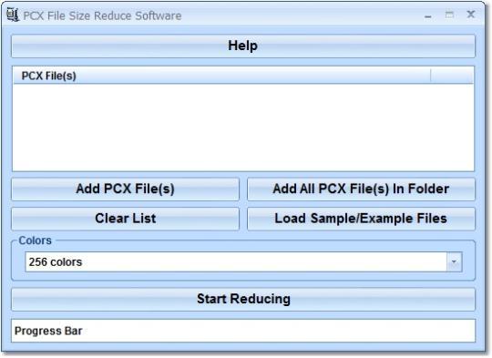 PCX File Size Reduce Software