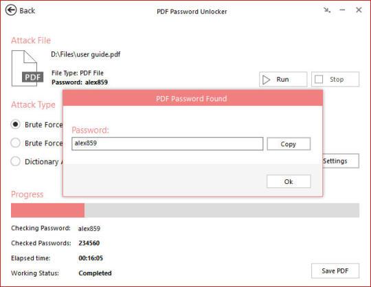 PDF Password Unlocker