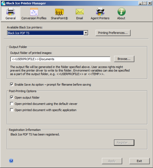 PDF Printer Driver for Windows Servers and Citrix