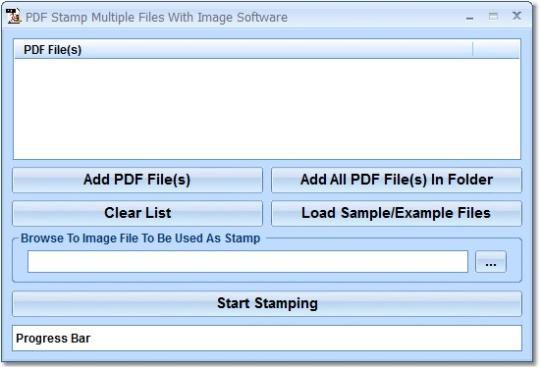 PDF Stamp Multiple Files With Image Software