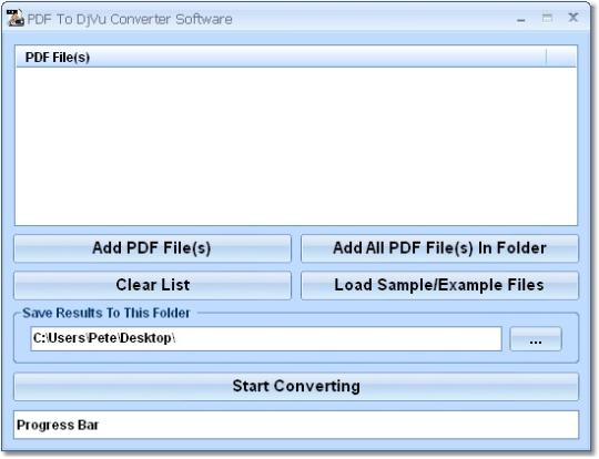 PDF To DjVu Converter Software