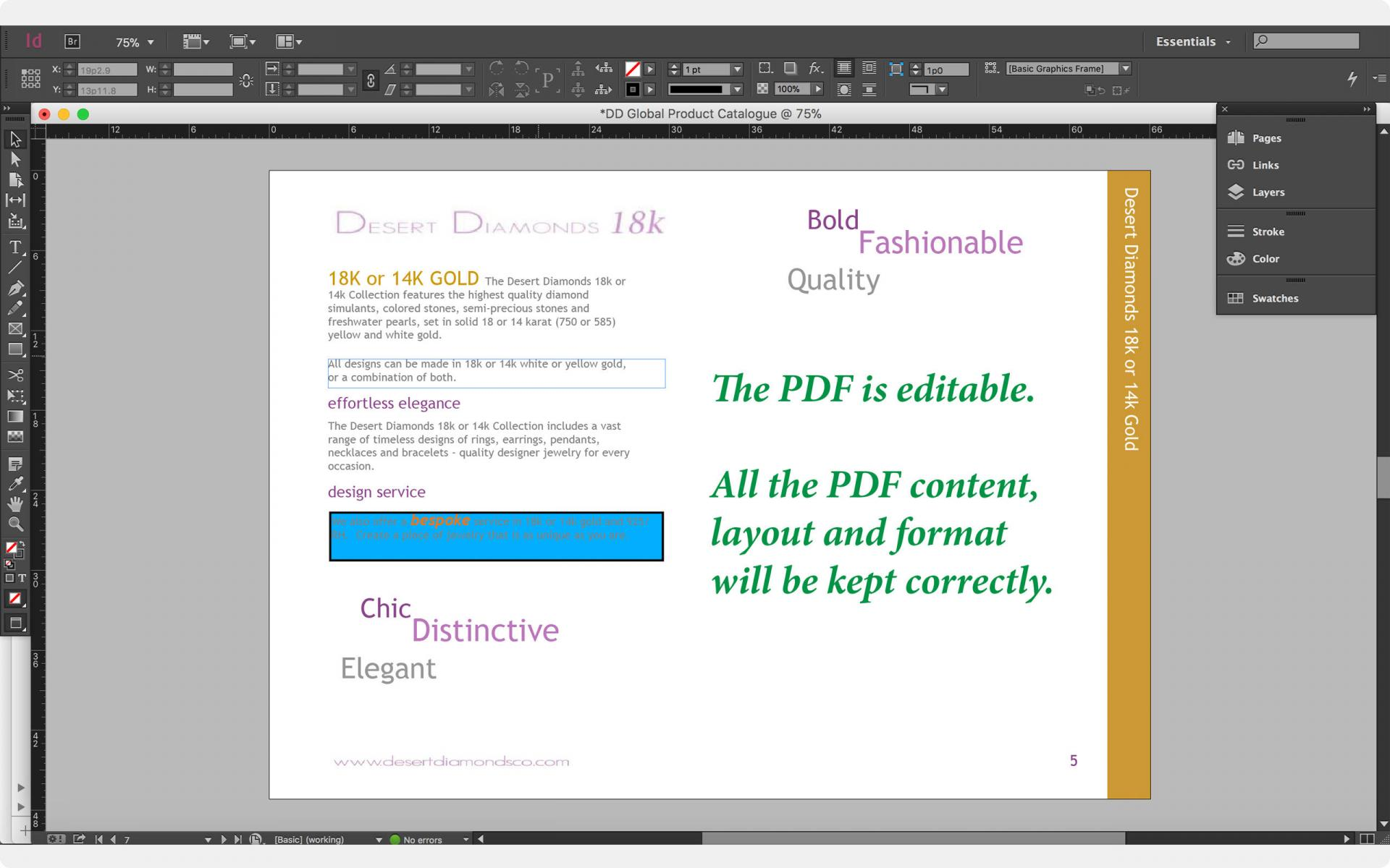 PDF to ID