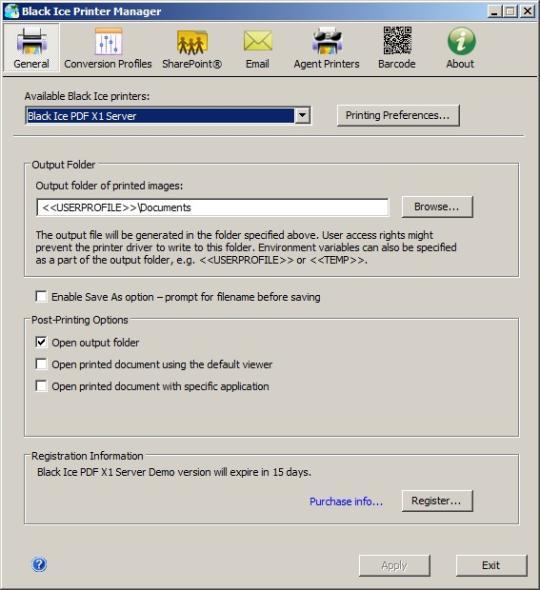 PDF X1 Printer Driver for Windows Servers and Citrix