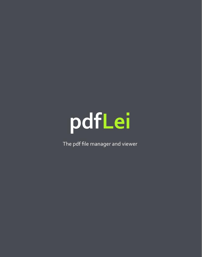 PdfLei Community