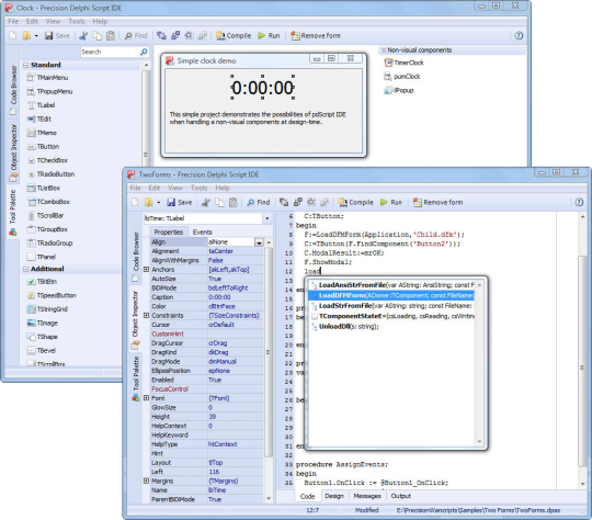 pdScript IDE