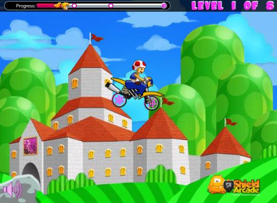 Peach Bike Game