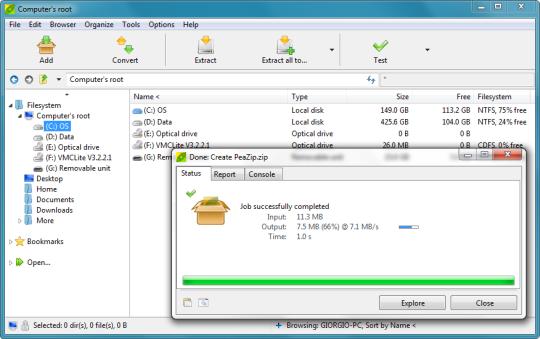 PeaZip Portable (64-Bit)