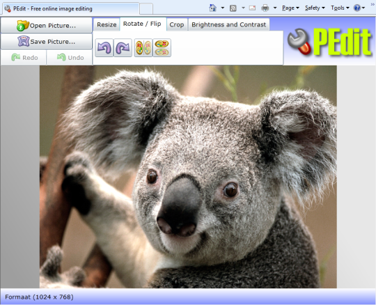 PEdit - Free Online Photo Editor
